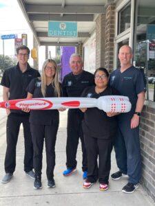 Staff at South Flores Dental in San Antonio